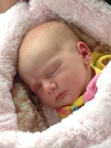 Our precious girl.