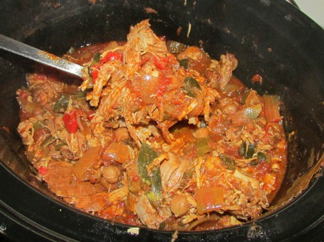 Slow Cooker Mexican Pork and Peppers