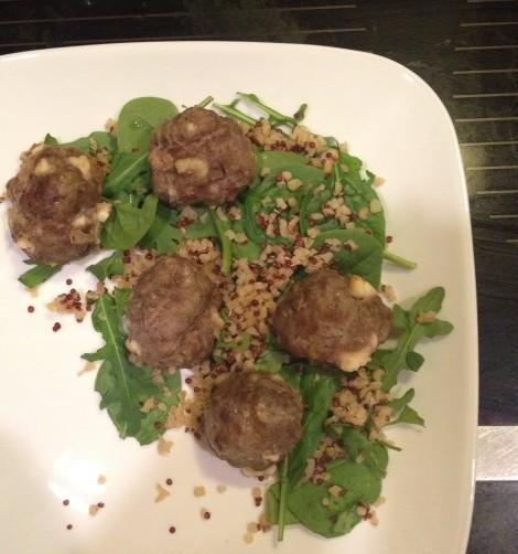 Bamb Meatball Dinner
